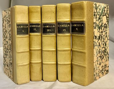 London: T. Payne and T. Cadell, 1796. First edition. Hardcover. Bound in quarter light brown calf an...