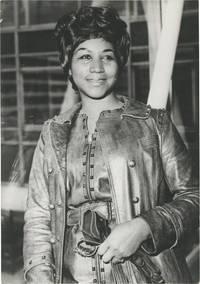 image of Original photograph of Aretha Franklin, 1971