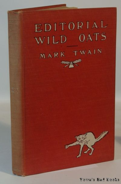 New York: Harper & Brothers, 1905. First Edition. First printing Very good+ in bright red cloth cove...