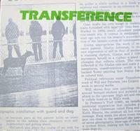 image of Transference. Don Corman, Chris Cran, Billy J. McCarroll, Steve Peterson, Arlene Stamp, and John Will