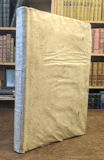 Antwerp: Gioachino Trognaesio, 1611 First edition. Quarto. Pp. , 221, . Extra-engraved title, 15 cop...
