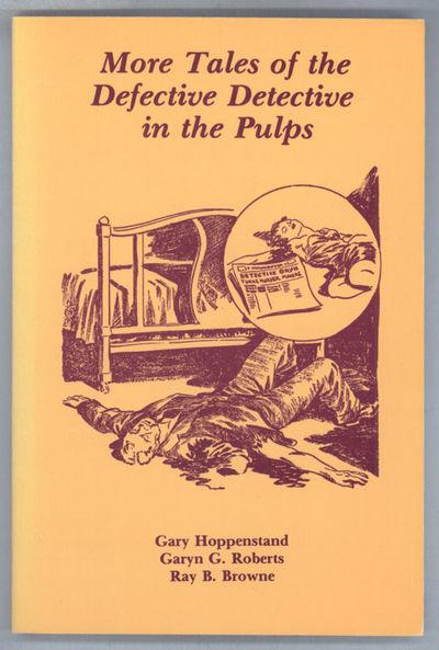 Bowling Green, Ohio: Bowling Green University Popular Press, 1985. Octavo, pp. 1-119 , pictorial wra...