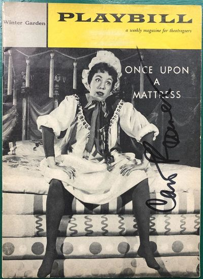 New York, 1959. unbound. very good. Playbill for the 1959 production of