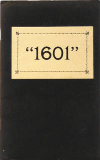 1601 or Conversation at the social fireside as it was in the time of the Tudors. By Mark Twain
