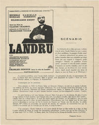 Landru [Bluebeard] (Promotional flyer for the 1963 French film)