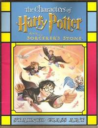 THE CHARACTERS OF HARRY POTTER AND THE SORCERER'S STONE Stained Glass Art