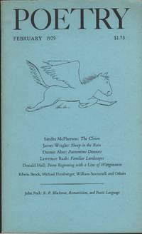 Poetry, Vol.CXXXIII
