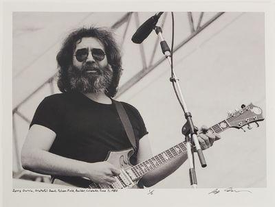 Boulder, 1980. Limited edition (1 of 6). Description: Jerry Garcia, of The Grateful Dead, at Folsom ...