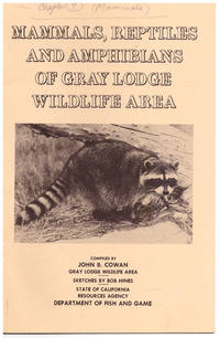 Mammals, Reptiles, and Amphibians of Gray Lodge Wildlife Area
