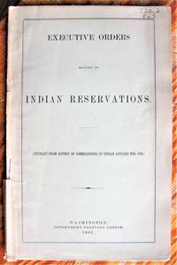 image of Executive Orders Relating to Indian Reservations