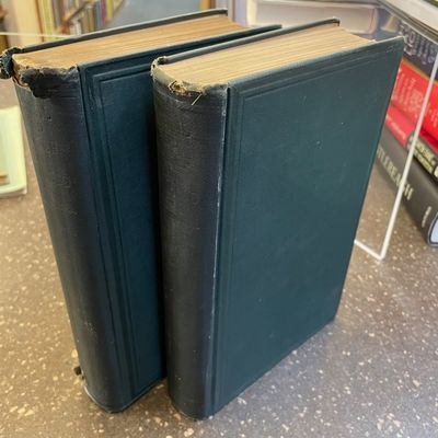 London: Macmillan and Co., Limited, 1926. First Edition. Hardcover. Octavos, 2 volumes; G-; bound in...