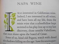 """Napa Wine; A Chapter from """"The Silverado Squatters"""""""