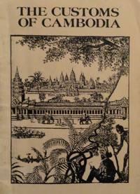 Customs of Cambodia