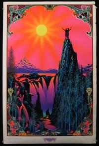"""""""Garden of Eden"""" Blacklight Velvet Poster, 1970"""