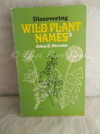 image of Discovering Wild Plant Names