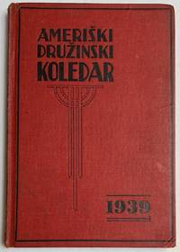 image of Ameriski druzinski koledar (American family almanac). 1939