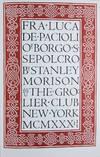 View Image 2 of 6 for Fra Luca de Pacioli of Borgo S. Sepolcro Inventory #45897