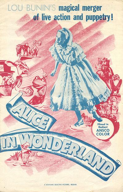 ALICE IN WONDERLAND [ALICE AU PAYS...