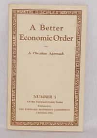 image of A better economic order: A Christian approach