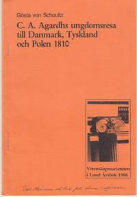 C.A. Agardhs ungdomsresa till Danmark, Tyskland och Polen 1810