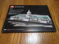 LEGO Architecture (21030) United States Capitol Building BOOK ONLY