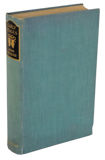 London: Macmillan & Co. Ltd, 1939. First edition. Hardcover. A collection of essays from the noted a...