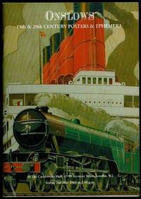 image of 19th & 20th  Century Posters and Advertising Ephemera Auction Catalogue