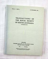 image of Aboriginal Stone Structures [Contained in] Transactions of the Royal Society of South Australia, Volume 64, Part 2, 1940