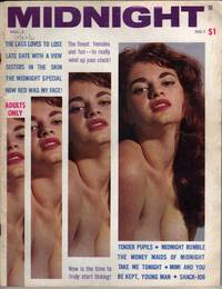 """Midnight [""""Adults Only""""] - Vol.2 No.1 - 1961 [MAGAZINE]"""