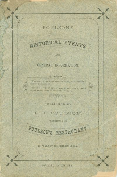 Poulson's Historical Events and...