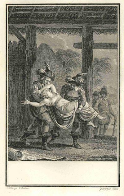 Paris: L'Imprimerie de Migneret, 1797. 487,pp. Large octavo (230 x 160 mm). Contemporary tree calf, ...