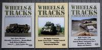 image of WHEELS & TRACKS:  THE INTERNATIONAL REVIEW OF MILITARY VEHICLES.  NUMBER 14, NUMBER 16 & NUMBER 18.  3 ITEMS IN TOTAL.