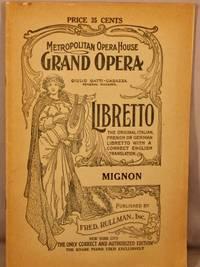 image of Mignon; Comic Opera in Three Acts.