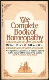 Image for COMPLETE BOOK OF HOMEOPATHY