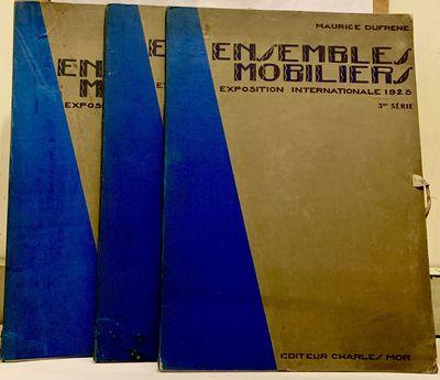 Paris: Charles Moreau, 1925. First edition. Hardcover. Original cloth-backed printed blue and gray b...