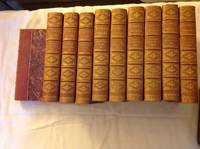 THE D'ARTAGNAN ROMANCES: TWENTY YEARS AFTER(2 volumes), THREE MUSKETEERS(2 volumes), THE VICOMTE DE BRAGELONNE(6 volumes) by Dumas, Alexandre - 1888
