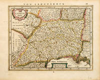 LANGUEDOC. by MERCATOR/JANSSON - 1651, 2nd German edition. - from Peter Harrington (SKU: 54283)