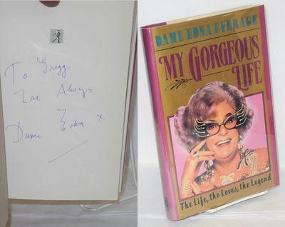 New York: Simon & Schuster, 1989. 284p., signed and with a brief inscription by Dame Edna, first pri...