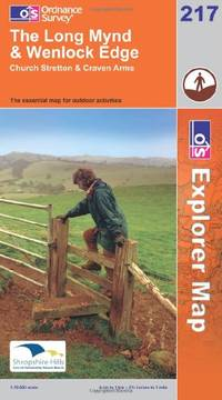 image of Long Mynd and Wenlock Edge (Explorer Maps) (OS Explorer Map)