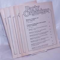 image of Party Organizer, vol. 5, no. 1, February 1981 to no. 5, September, 1981