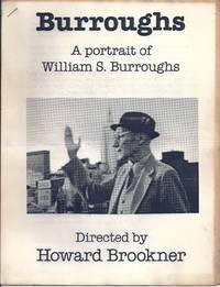 BURROUGHS. A Portrait of William S. Burroughs
