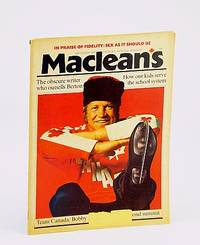 Maclean's, Canada's National Magazine, September (Sept.) 1974 - Bobby Hull Cover Photo