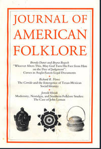 Journal of American Folklore (Vol  105, No 416, Spring 1992)