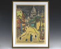 Ludwig Bemelmans Signed Madeline Lithograph.