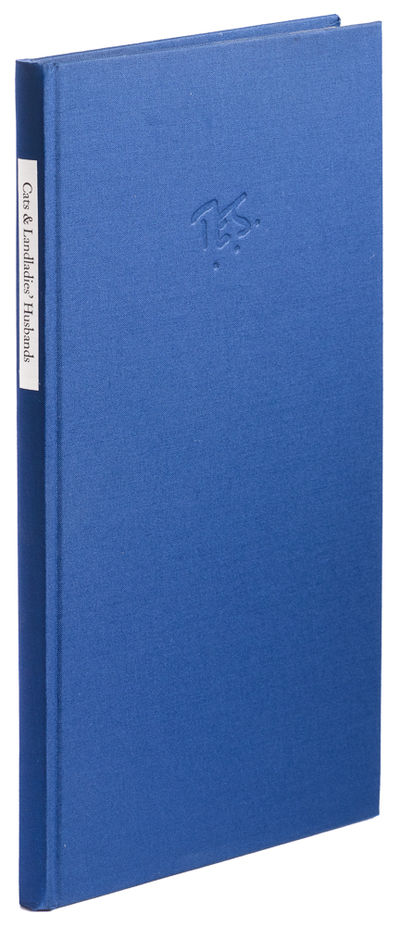 England: Fleece Press, 1995. First Edition. Hardcover. Fine. tall 8vo, cloth with paer spine label, ...