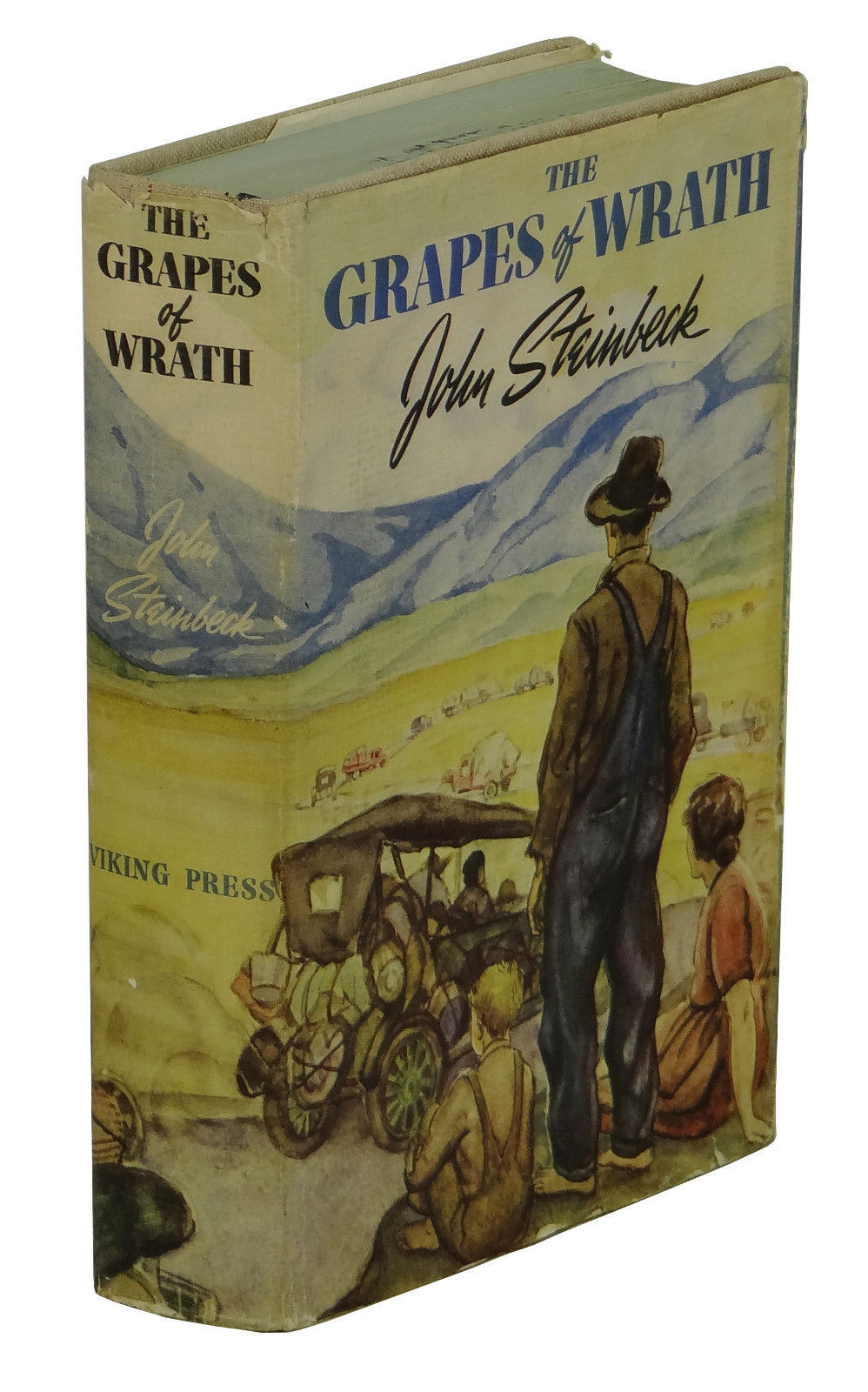 grapes of wrath by john steinbeck Readers guide questions and topics for discussion introduction when  john steinbeck accepted his nobel prize for literature in 1962, he described.