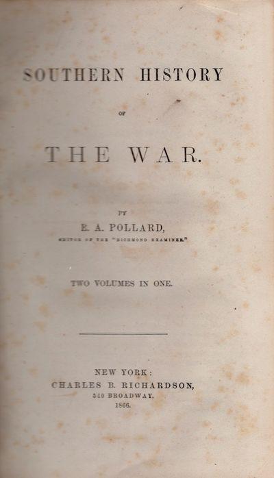 New York: Charles B. Richardson, 1866. Later printing. Hardcover. Fair. Small thick quarto. , 1258 p...