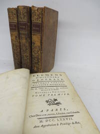 Elemens D'Histoire Generale: Second Partie. Histoire Moderne. by  Abbe Claude MILLOT - Hardcover - Nouvelle Edition - 1777 - from Attic Books and Biblio.co.uk