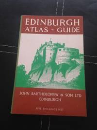 EDINBURGH ATLAS - GUIDE by  None Stated - Paperback - third Edition - 1961 - from Barmas Books  and Biblio.com