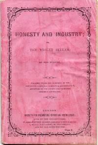 image of Original 1868 Pamphlet Honesty and Industry or the Violet Seller by Miss  Bunbury